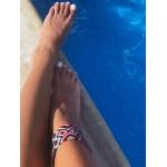 Purple Brazilian Ankle Bracelet