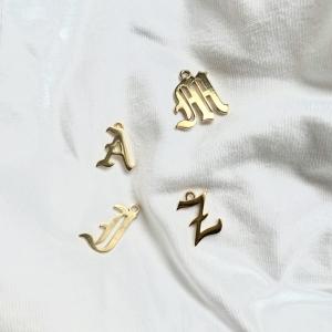 Gothic Letter Gold