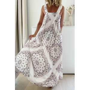 Cream Bandana Dress