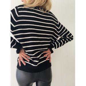 Gilet Black Stripe