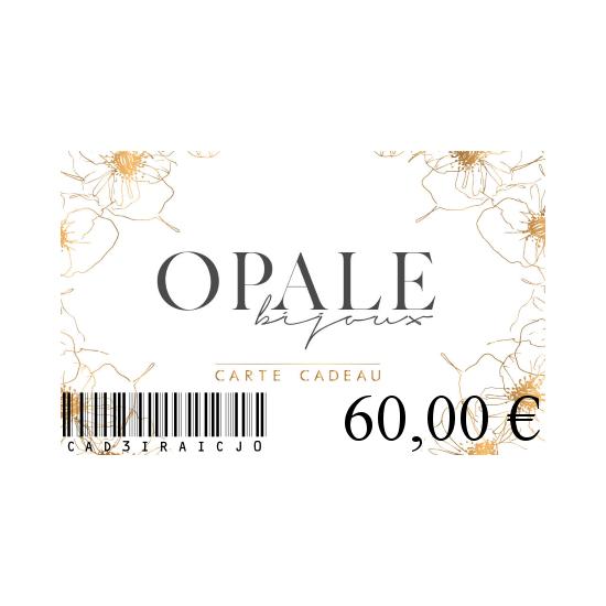 Carte Cadeau 60
