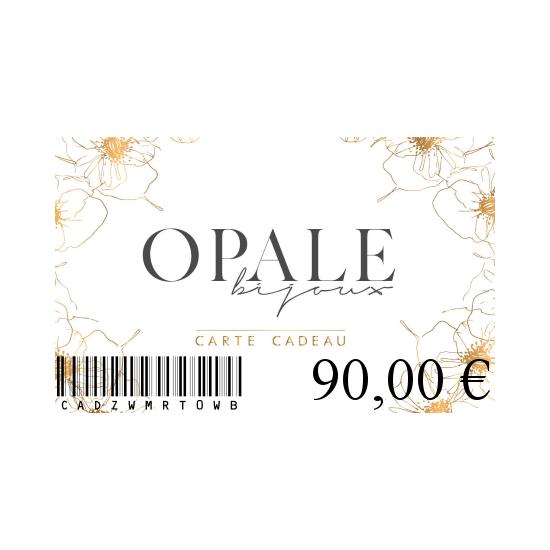 Carte Cadeau 90