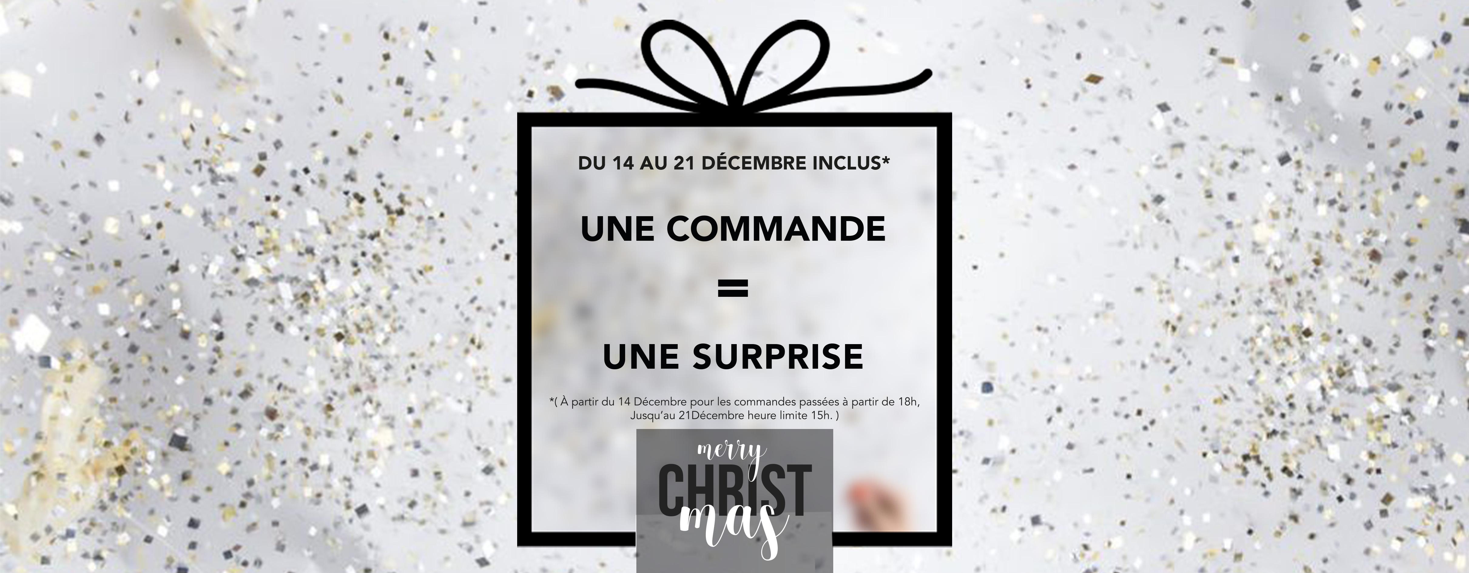 commande surprise cadeau noël bijoux