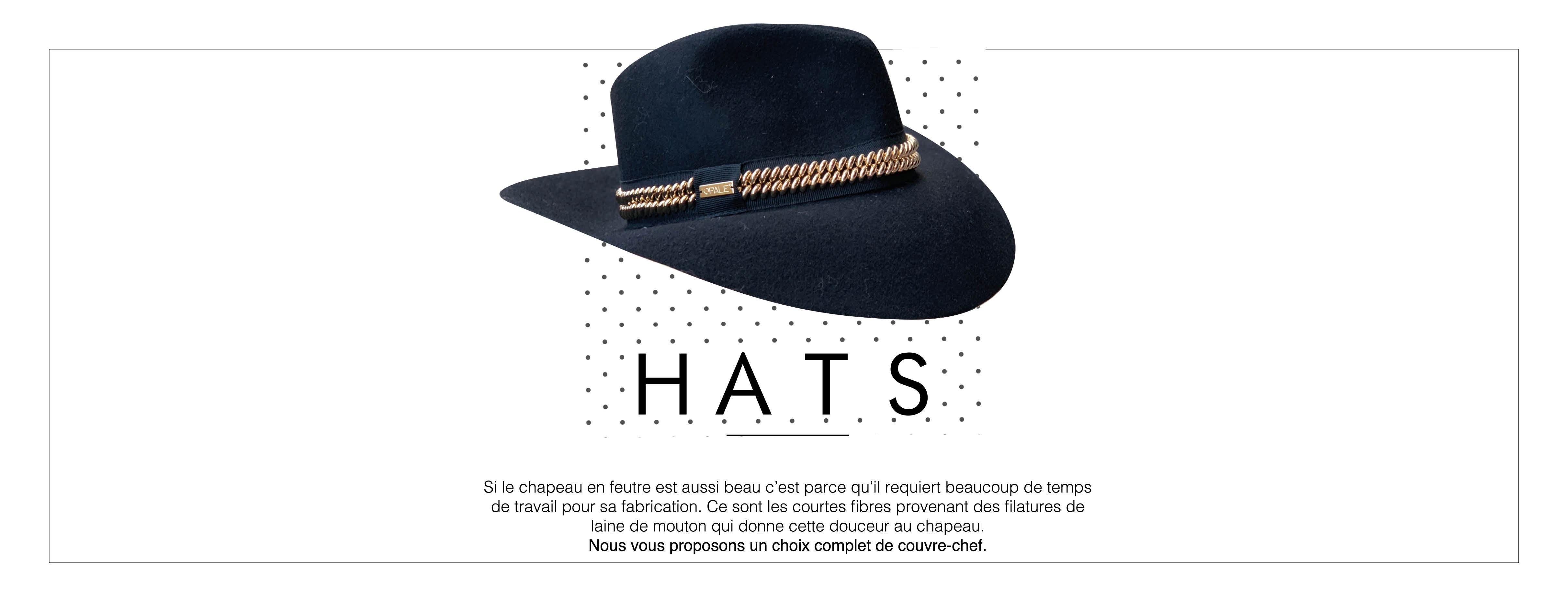 Nos jolis chapeaux en laine